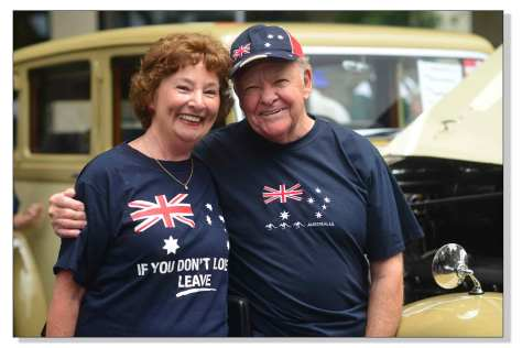 Happy , couple, nomination,  Australian , macquarie, Street