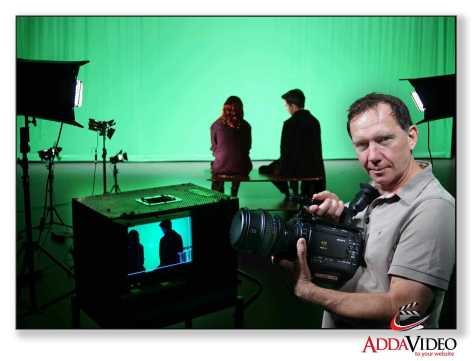using the sony F3 for a green screen composite